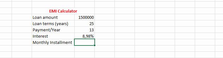 Irregular Loan Payment Calculator Excel Unique Sbi Home Loan Emi Calculator Excel Homemade Ftempo
