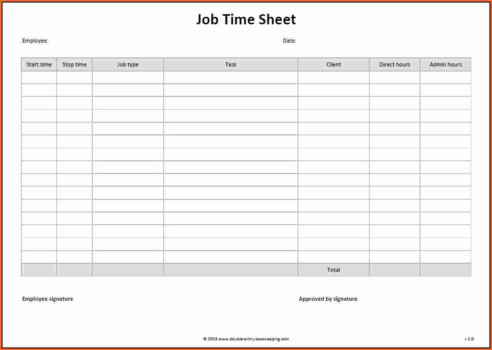 Is Time Sheet One Word Best Of 8 Word Timesheet Template Bud Template Letter