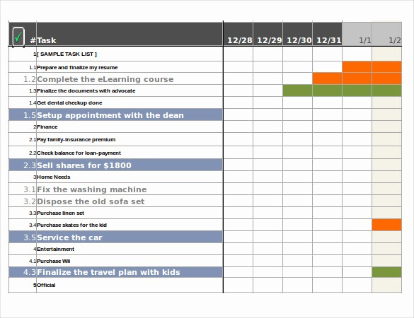 Issues List Template Excel Free Luxury Excel Task Tracker Template