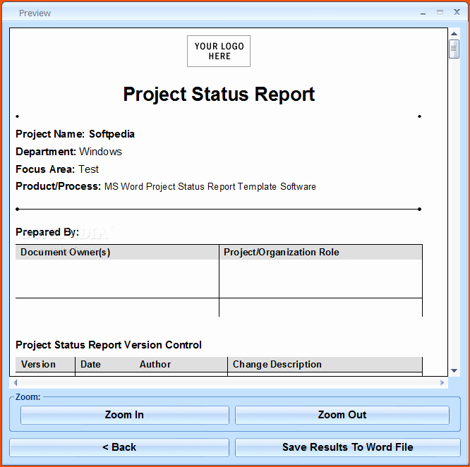 It Project Status Report Template Fresh 7 Project Status Report Template Bookletemplate