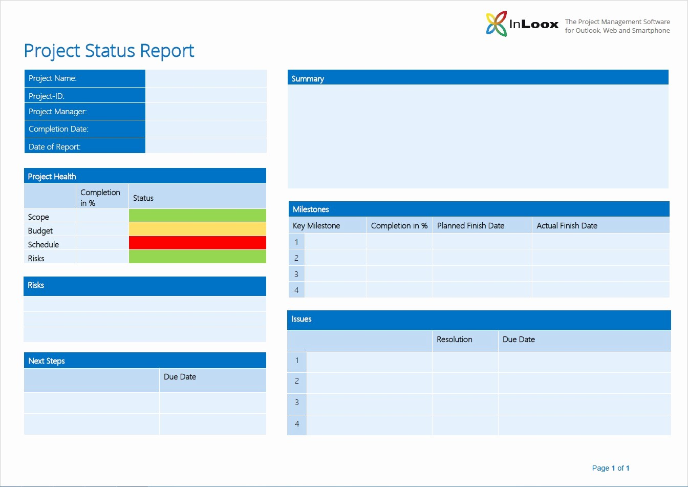 "It Project Status Report Template Fresh ""what S the 411 "" the Importance Of Project Status"