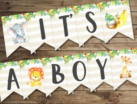It's A Boy Banner Printable Best Of Banner It S A Boy Baby Shower Banner Printable Baby