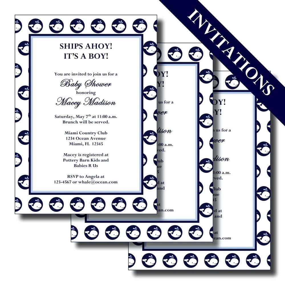 It's A Boy Banner Printable Inspirational Nautical Whale Ships Ahoy It S A Boy Custom Printable