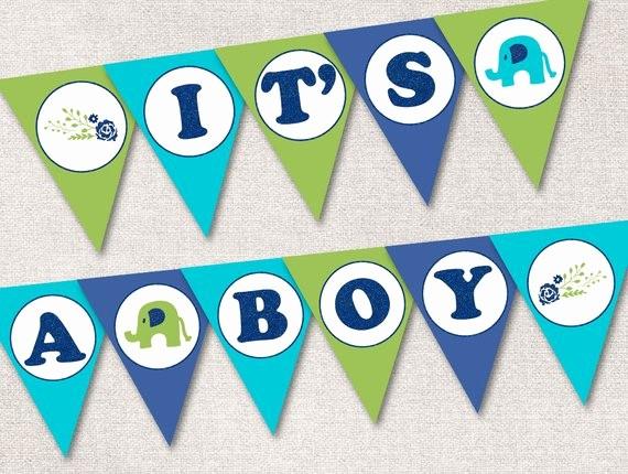 It's A Boy Banner Printable Lovely It S A Boy Banner Printable It S A Boy Baby Shower
