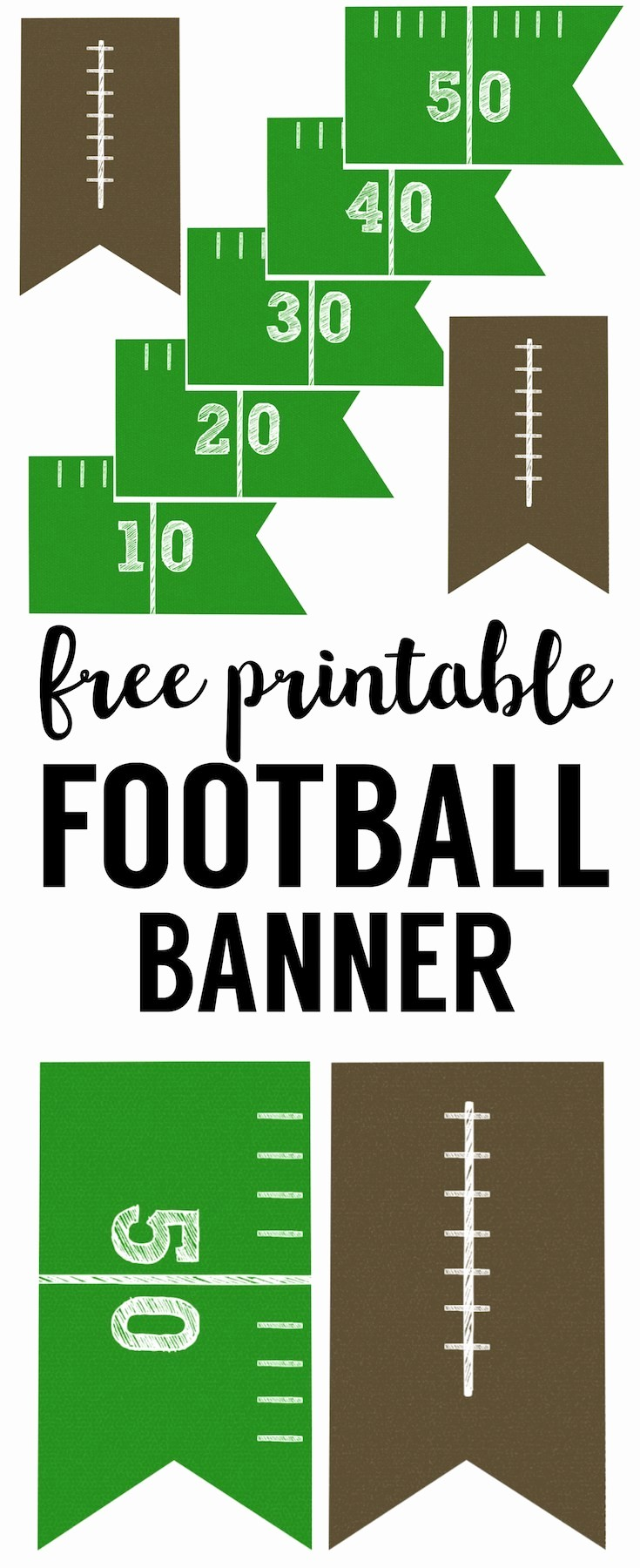 It's A Boy Banner Printable Luxury Football Banner Free Printable Football Party Paper
