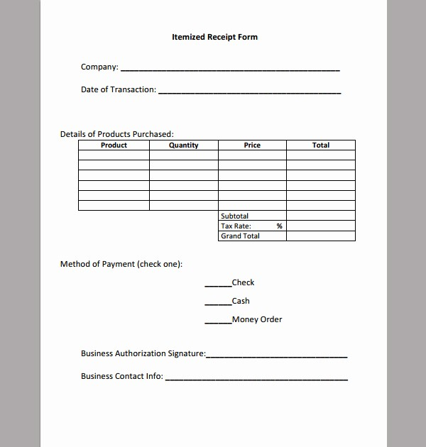 Itemized Bill Template Microsoft Word Beautiful Best S Itemized Invoice Template Itemized Receipt