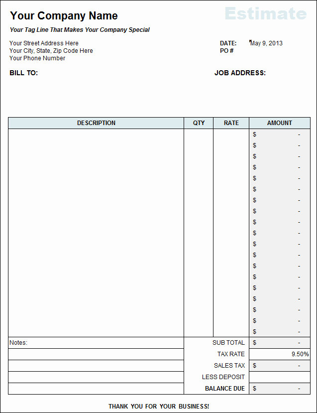 Itemized Bill Template Microsoft Word Unique Itemized Bill Template Microsoft Word and Create An