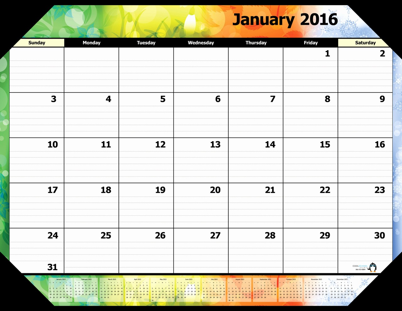 January 2016 Calendar Template Word Beautiful January 2016 Calendar Word – 2017 Printable Calendar