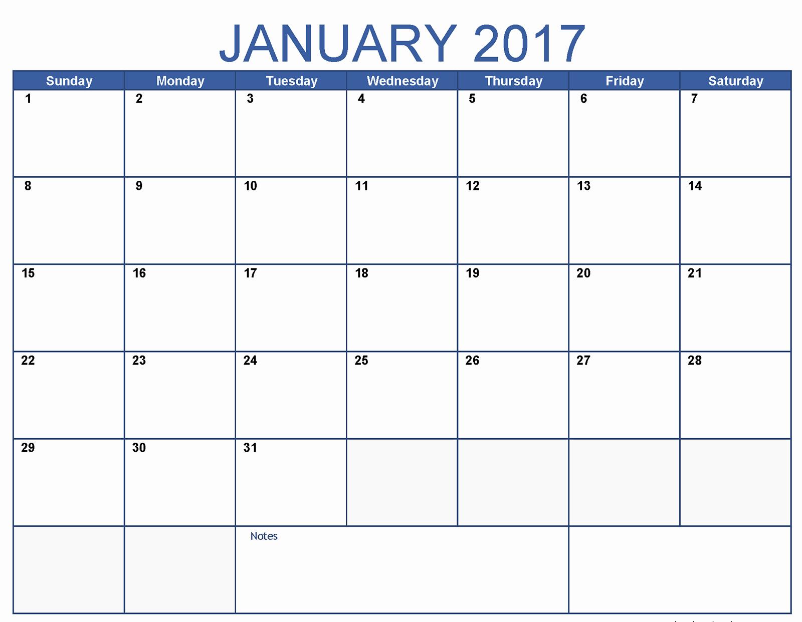 January 2016 Calendar Template Word Lovely January Calendar 2017 Word