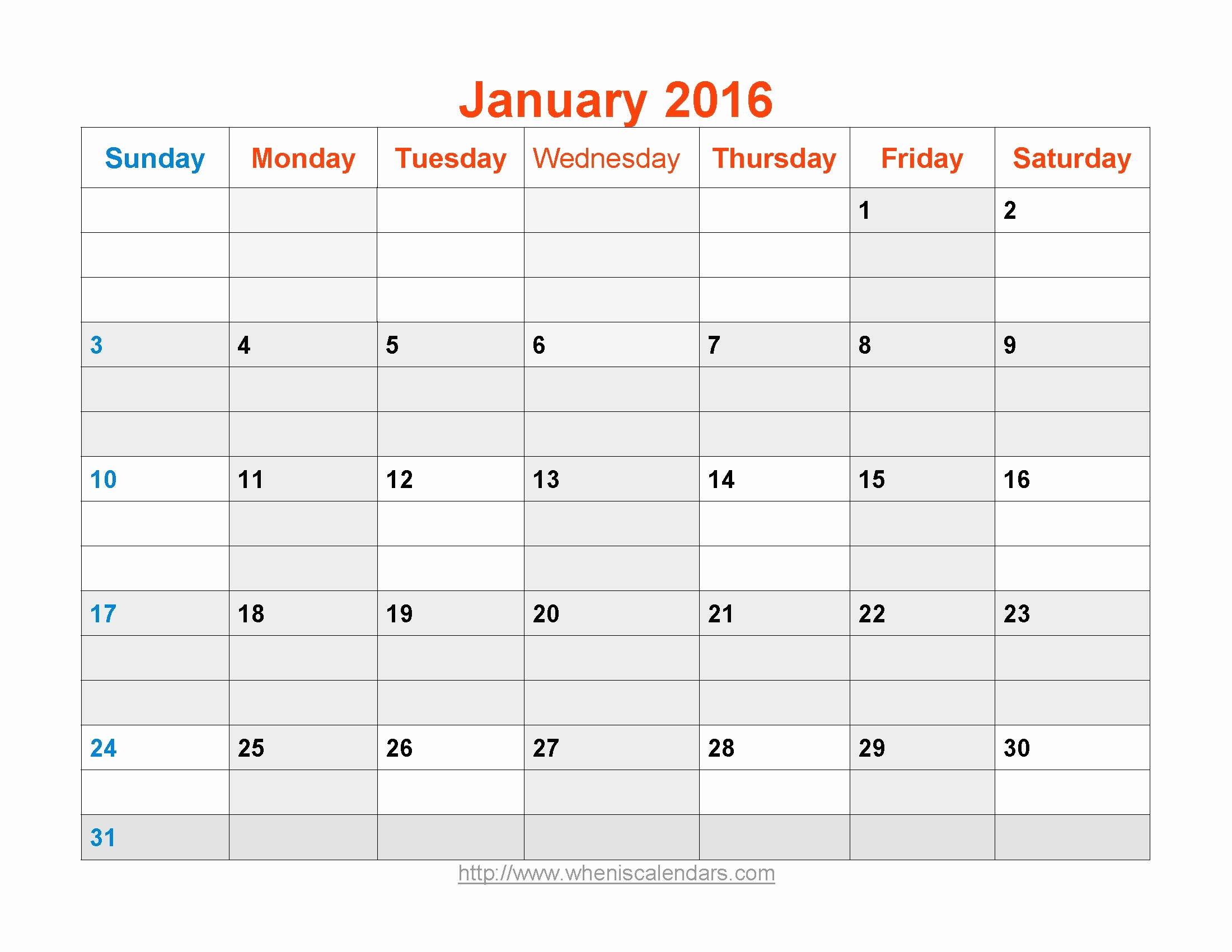 January 2016 Calendar Template Word Luxury Word Pdf Calendar Template 2016 Free Calendar Template