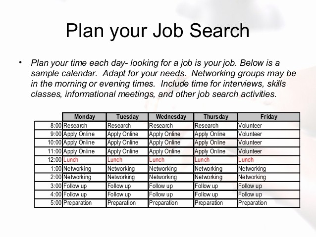 Job Search Log Template Excel Lovely Creating Your Job Search Plan