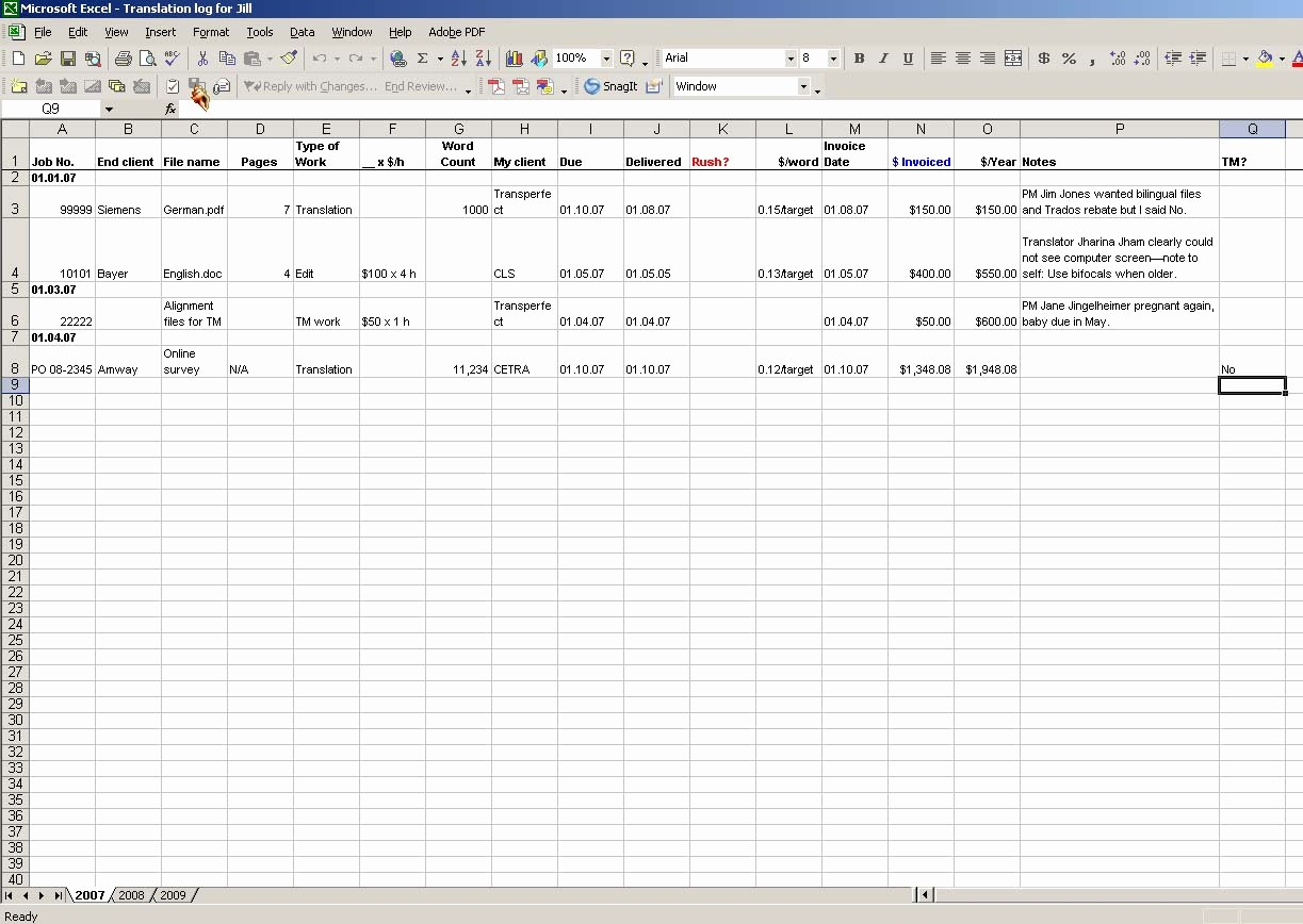 Job Search Log Template Excel Unique I Don't Need No Stinkin' Job Tracking System…