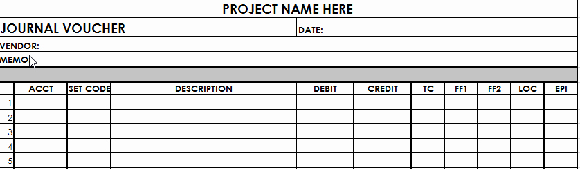 Journal Entry Template for Excel Elegant Journal Entry Template Help Center