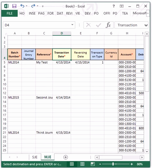 Journal Entry Template for Excel Luxury How to Copy and Paste Multiple Journal Entries From Excel