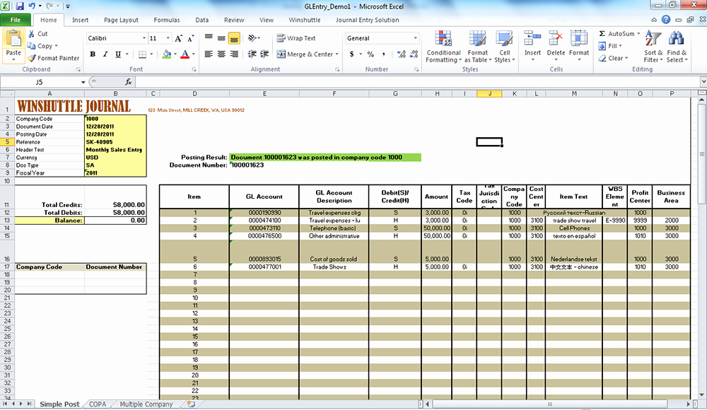 Journal Entry Template for Excel Luxury Journal Ledger Templates Excel