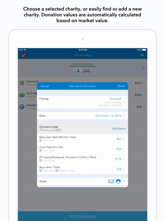 Keep Track Of Charitable Donations Fresh Itsdeductible Charity Donation Tracker by Intuit Inc