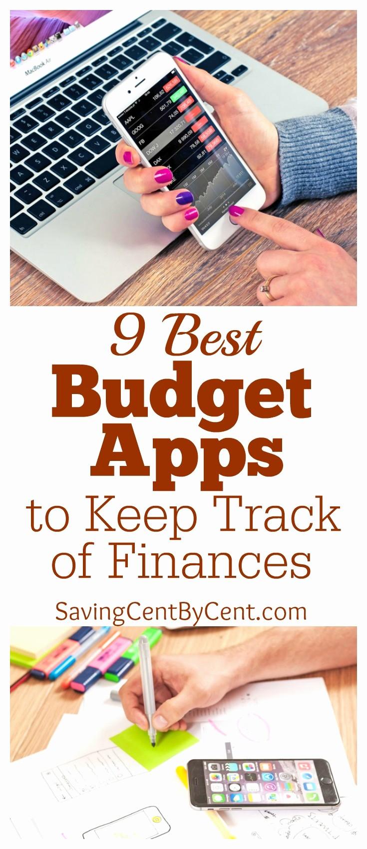 Keep Track Of Finances Excel Best Of 9 Best Bud Apps to Keep Track Of Your Finances Saving