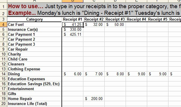 Keep Track Of Finances Excel Lovely How to Keep Track Of Money