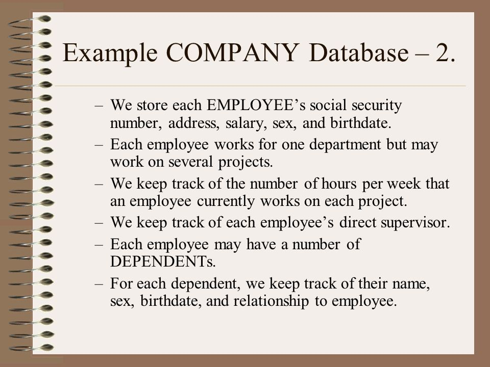 Keeping Track Of Hours Worked Fresh Conceptual Data Modeling Er Ppt