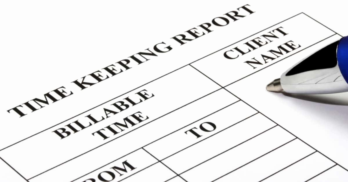 Keeping Track Of Hours Worked Inspirational How to Track Billable Hours