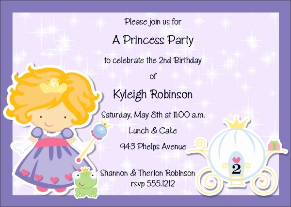 Kids Birthday Party Invite Templates Best Of 21 Kids Birthday Invitation Wording that We Can Make