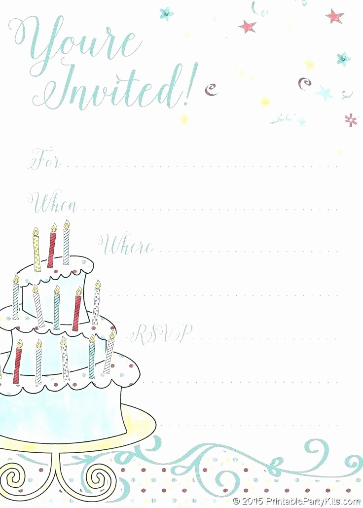 Kids Birthday Party Invite Templates Best Of Free Printable Boy Birthday Invitations Boys Templates