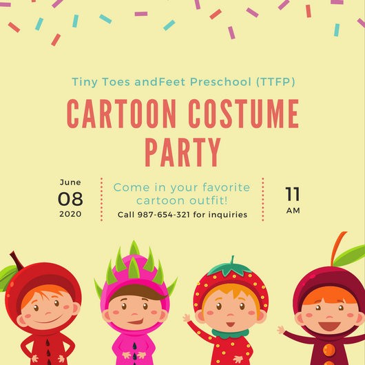 Kids Birthday Party Invite Templates Best Of Kids Party Invitation Templates Canva