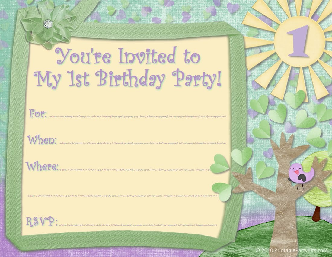 Kids Birthday Party Invite Templates Fresh Kids Birthday Invitations Template