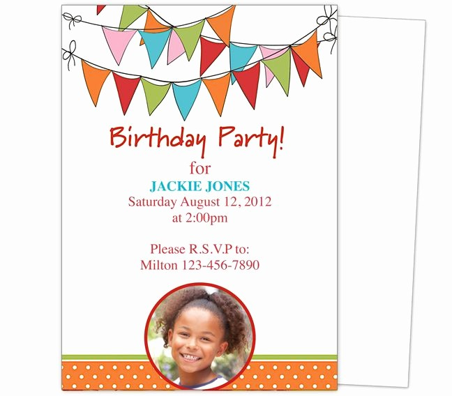 Kids Birthday Party Invite Templates Lovely 23 Best Images About Kids Birthday Party Invitation