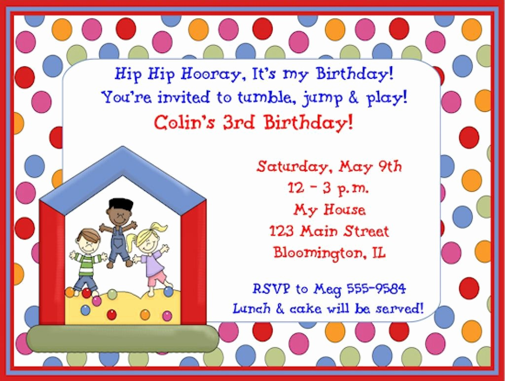 Kids Birthday Party Invites Templates Beautiful Childrens Birthday Party Invites toddler Birthday Party