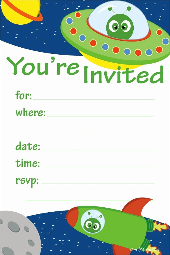 Kids Birthday Party Invites Templates Best Of 39 Kids Birthday Invitation Templates – Psd Ai
