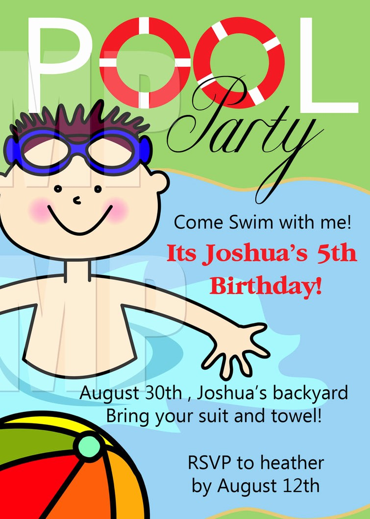 Kids Birthday Party Invites Templates Elegant Free Printable Birthday Party Invitations Templates