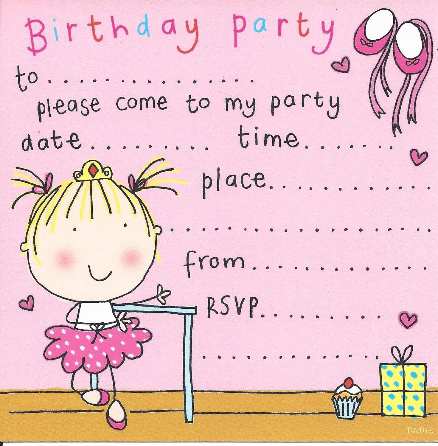 Kids Birthday Party Invites Templates Fresh Party Invitations Birthday Party Invitations Kids Party