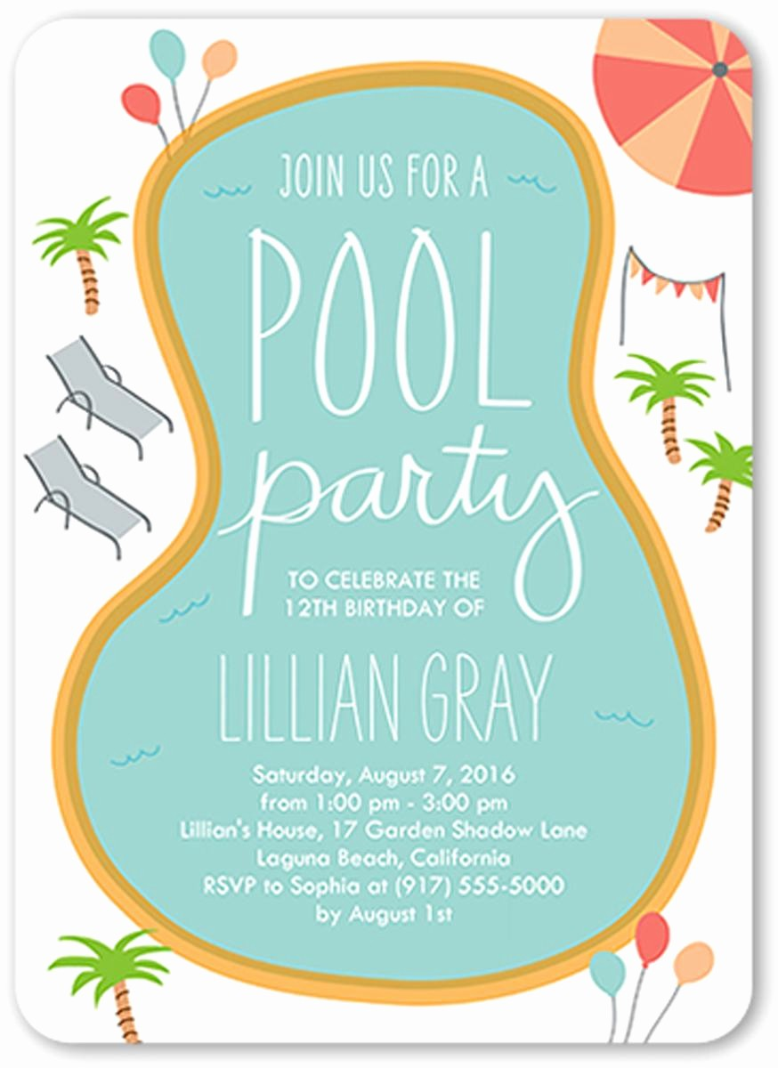 Kids Birthday Party Invites Templates New 18 Birthday Invitations for Kids – Free Sample Templates