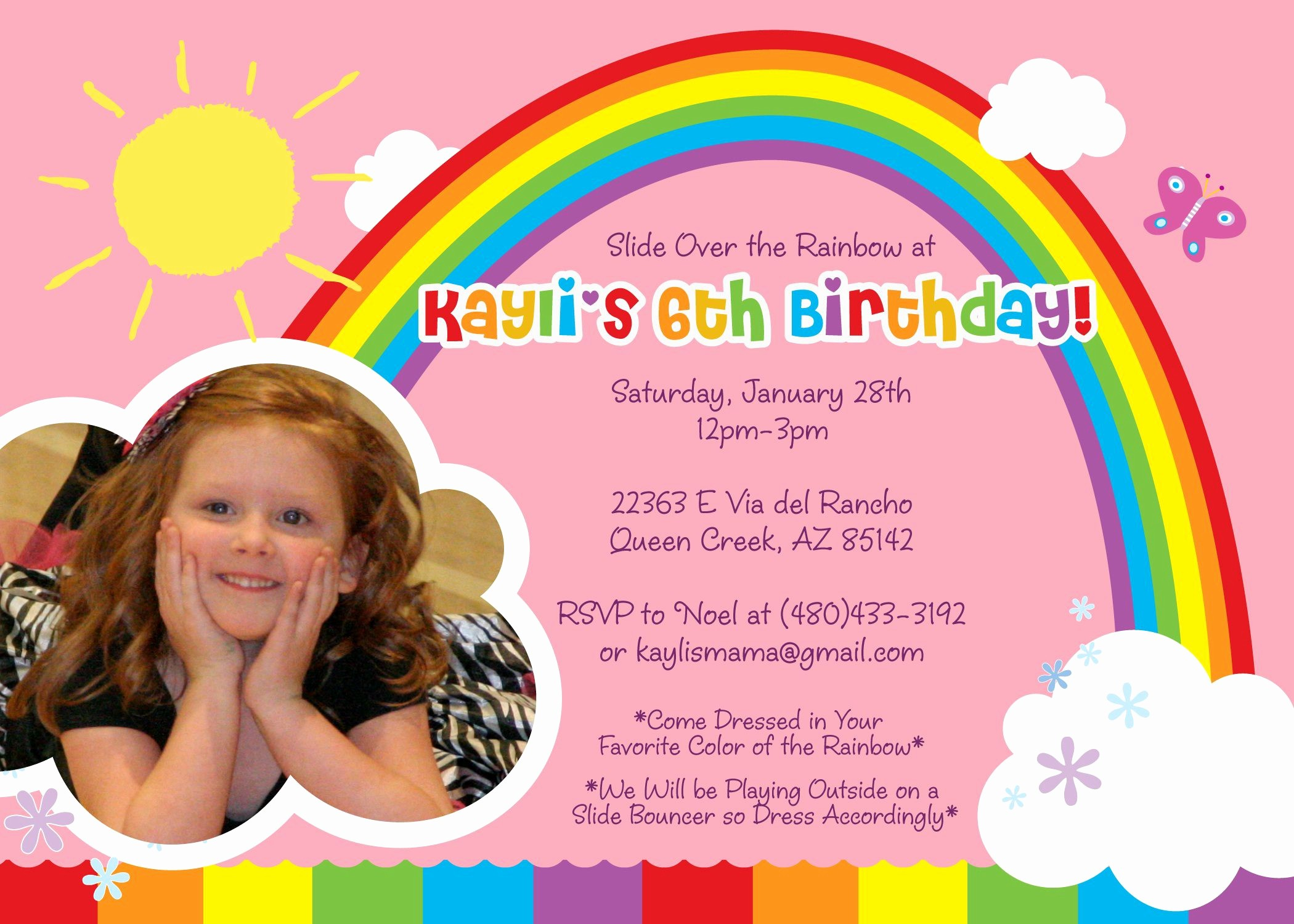 Kids Birthday Party Invites Templates New Birthday Invitation Birthday Invitation Card Template