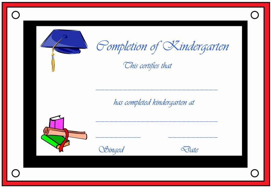 Kindergarten Graduation Diploma Free Printable Awesome Preschool Diploma Free Printable 11 Certificates — Rapic