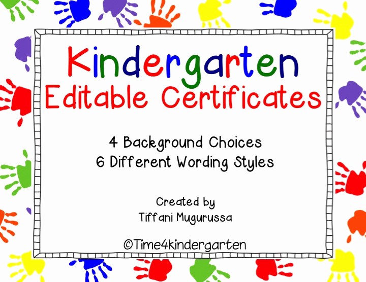 Kindergarten Graduation Diploma Free Printable Beautiful Kindergarten Certificates Pletion Diploma Editable