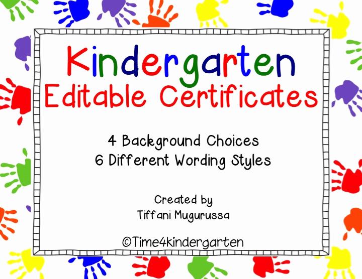 Kindergarten Graduation Diploma Free Printable Beautiful Kindergarten Certificates Pletion Diploma Editable