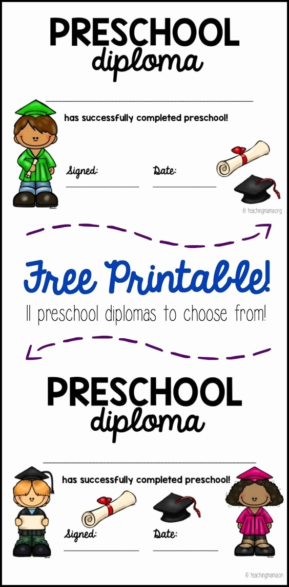 Kindergarten Graduation Diploma Free Printable Beautiful Pinterest • the World's Catalog Of Ideas