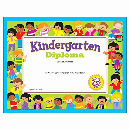Kindergarten Graduation Diploma Free Printable Elegant Kindergarten Graduation Certificates Amazon