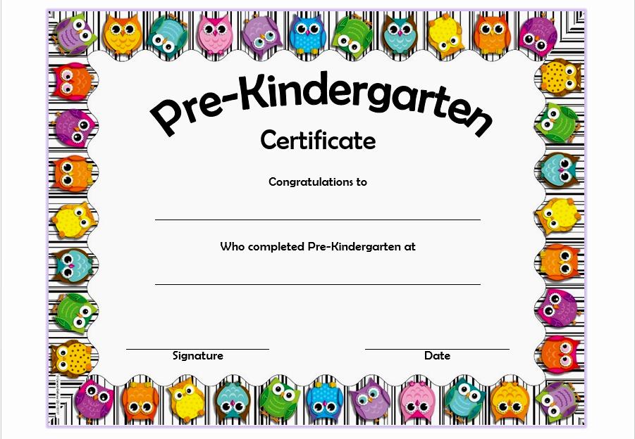 Kindergarten Graduation Diploma Free Printable Fresh Pre K Diploma Template Professional and High Quality