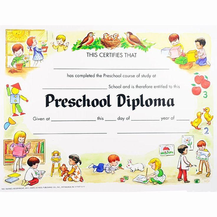 Kindergarten Graduation Diploma Free Printable Fresh Preschool Diploma Junio Graduacion Pinterest