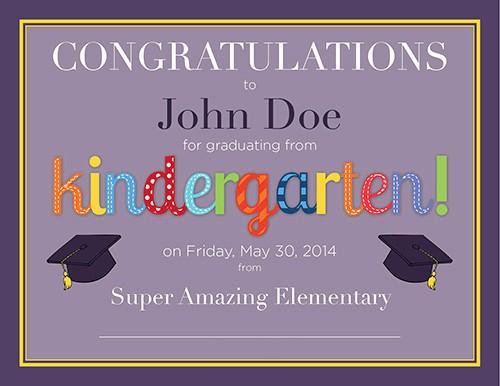 Kindergarten Graduation Diploma Free Printable Lovely Kindergarten Diploma – Free Printable – Frugal Novice