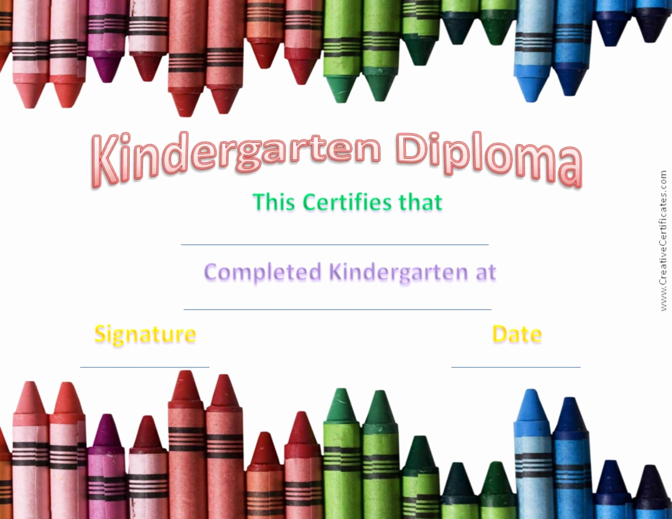 Kindergarten Graduation Diploma Free Printable Luxury Kindergarten Graduation Certificates