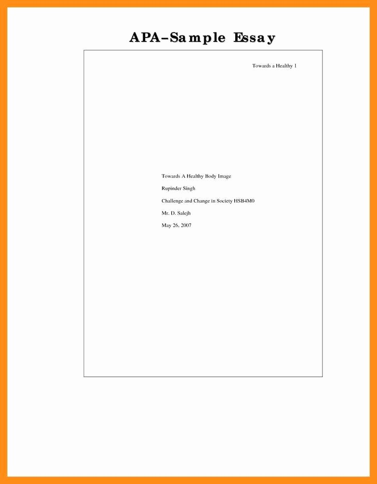 Lab Report Cover Page Apa Beautiful 11 12 Lab Report Cover Page Template