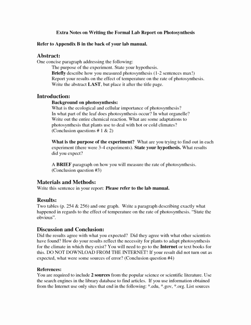 Lab Report Cover Page Apa Best Of Psychology Apa Lab Report Example Sample Paper