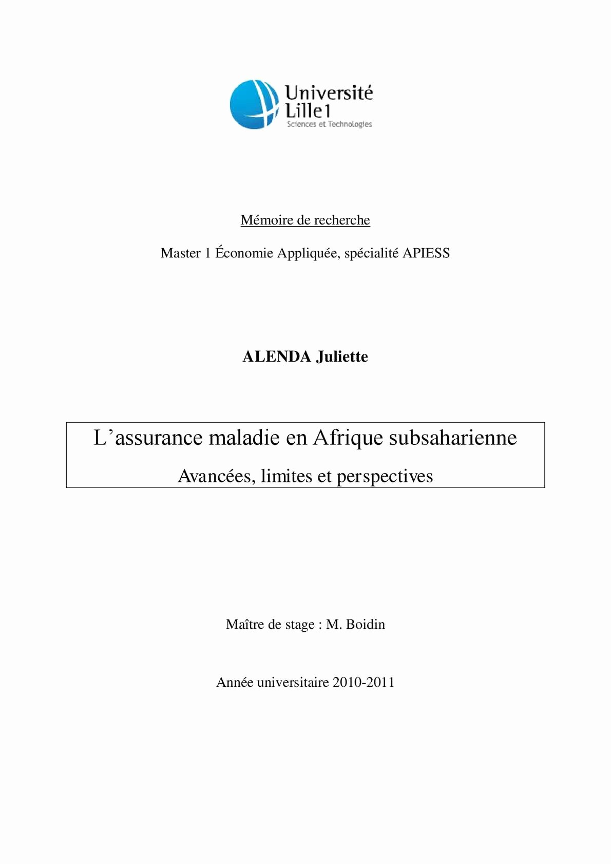 Lab Report Cover Page Apa Unique Calaméo L assurance Mala En Afrique Subsaharienne