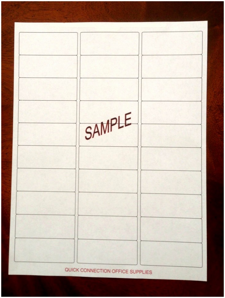 Label Templates 30 Per Page Beautiful 6 Return Address Labels Templates 30 Per Sheet Aieop