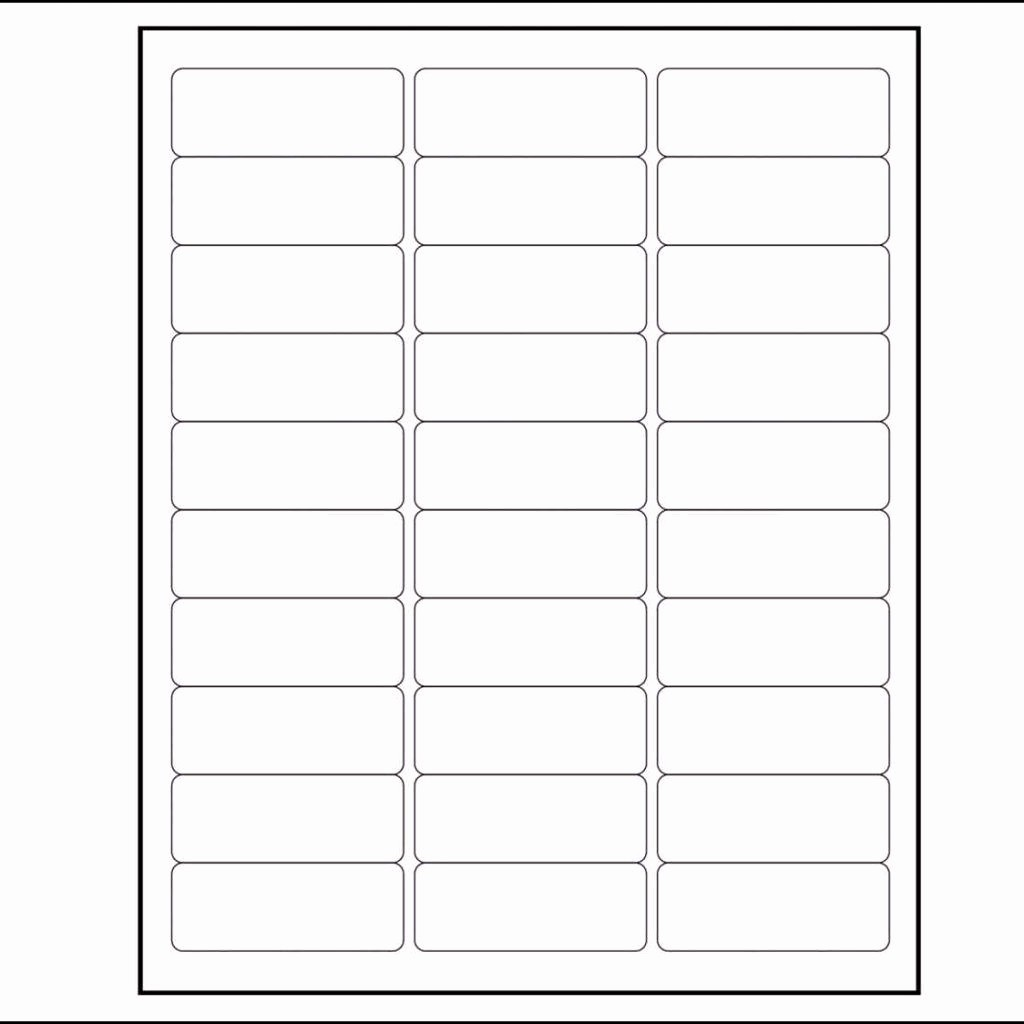 Label Templates 30 Per Page New Per Sheet Label Template and Free Christmas Return Address
