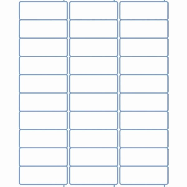 Labels 30 Per Page Template Best Of Address Label Template 30 Per Sheet top Label Maker